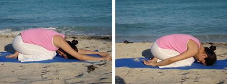 the secrets of yoga  the child's pose  balasana