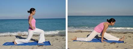 hatha yoga  separaciones  hanumanasana