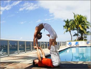 acroyoga  the secrets of yoga
